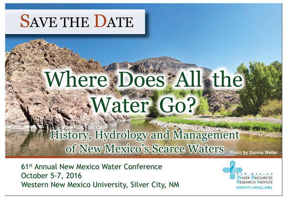 61st Annual Water Conference, Western NM University